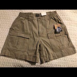 Royal Robbins khaki shorts. New with tags
